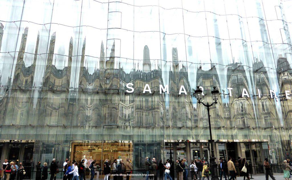 Glasfassade Samaritaine Paris