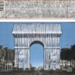 Der Triumphbogen wird verpackt - Christos letztes Werk