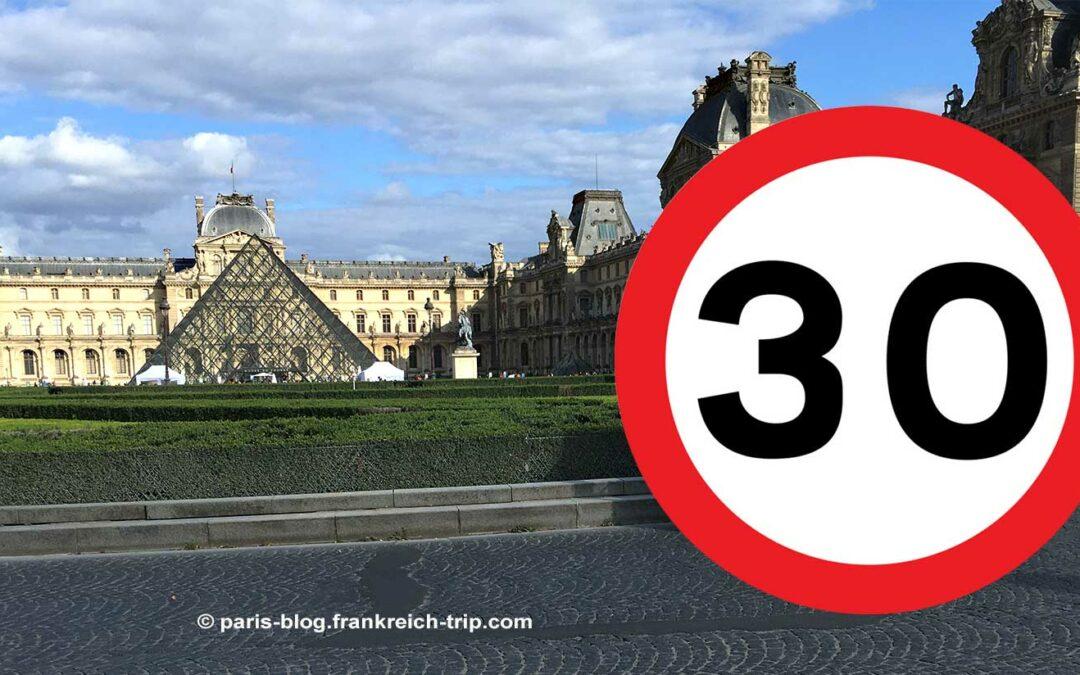Tempo 30 in Paris