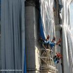 Triumphbogen Paris verpackt von Christo Arbeiten
