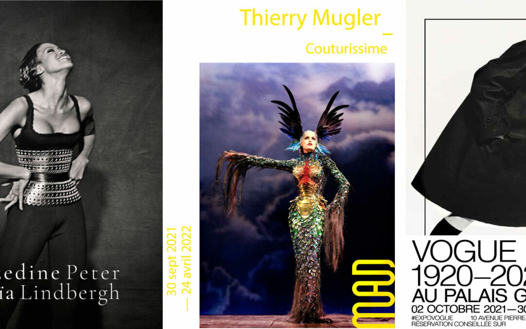 Ausstellung zum Thema Mode Herbst 2021 in Paris