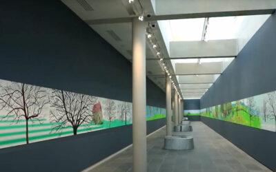 """David Hockney """"A year in Normandie"""" im Orangerie Museum"""